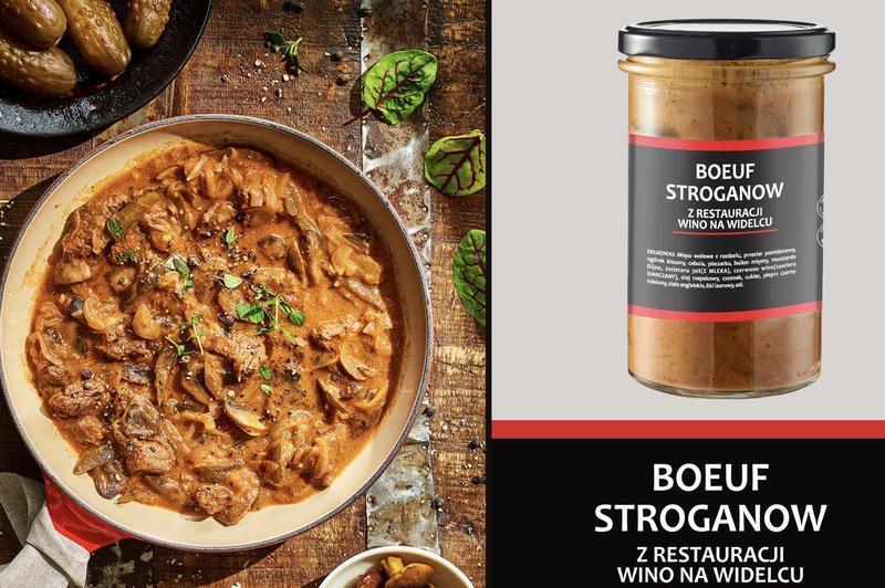 Produkt Boeuf Stroganow - zdrowa żywność blisko Ciebie