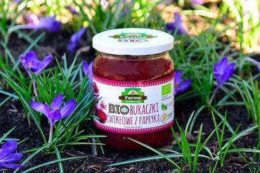 Produkt Buraczki ćwikłowe z papryką (EKO) - zdrowa żywność blisko Ciebie