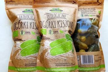 Produkt Ogórki kiszone niepasteryzowane doypack (EKO) - zdrowa żywność blisko Ciebie