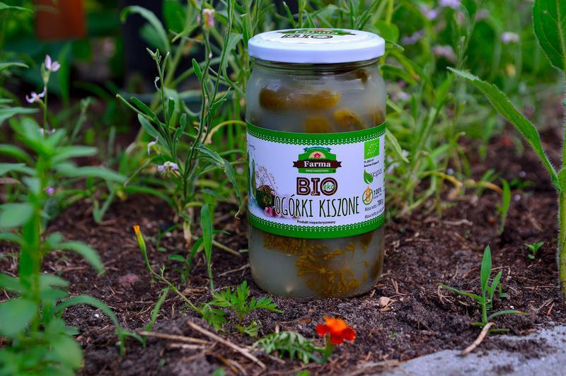 Produkt Ogórki kiszone niepasteryzowane (EKO) - zdrowa żywność blisko Ciebie