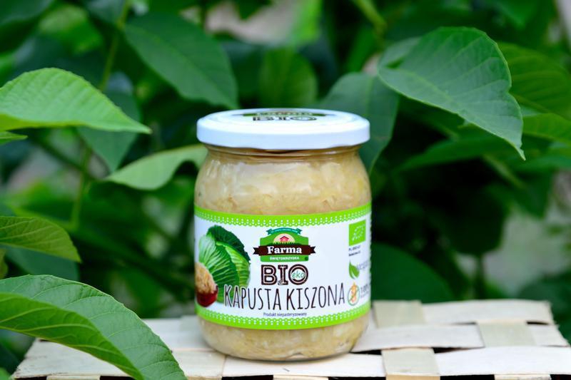 Produkt Kapusta kiszona niepasteryzowana (EKO) - zdrowa żywność blisko Ciebie