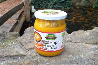 Produkt Bio zupa krem z marchewki 420g - zdrowa żywność blisko Ciebie