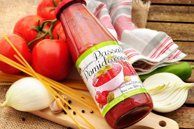 Produkt Passata pomidorowa (EKO) - zdrowa żywność blisko Ciebie