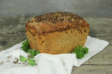 Produkt Chleb sitkowy z siemieniem lnianym - zdrowa żywność blisko Ciebie