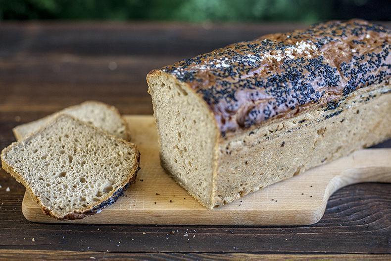 Produkt Chleb żytni z czarnuszką i solą morską - zdrowa żywność blisko Ciebie