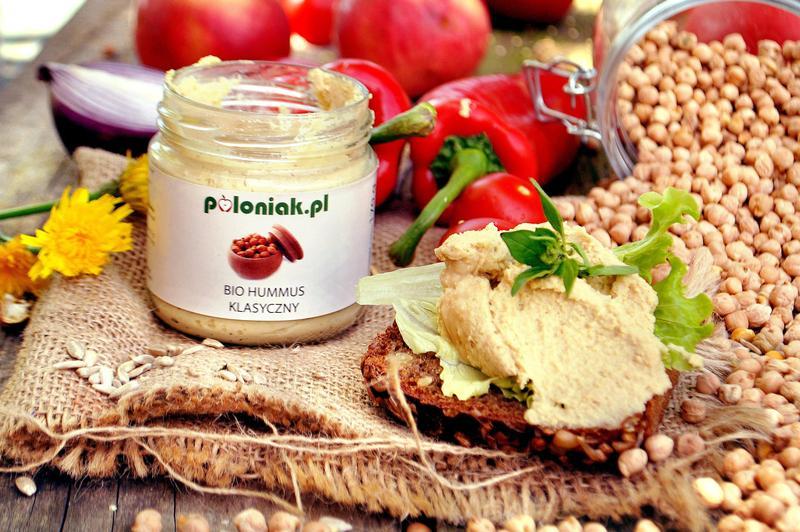 Produkt Hummus klasyczny (EKO) - zdrowa żywność blisko Ciebie