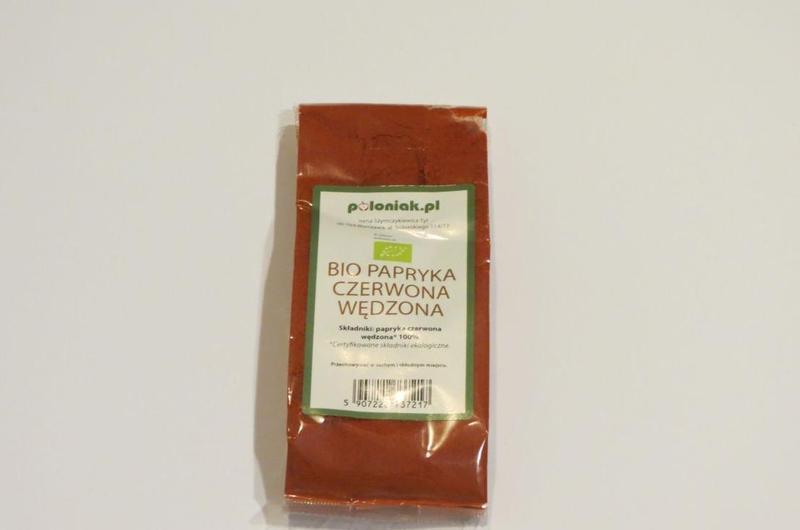 Produkt Papryka czerwona wędzona (EKO) - zdrowa żywność blisko Ciebie