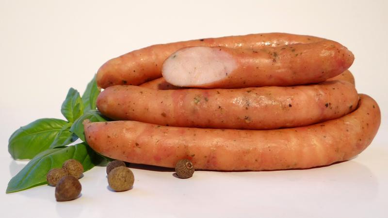 Produkt Kiełbaski delikatesowe, 100% indyk - zdrowa żywność blisko Ciebie