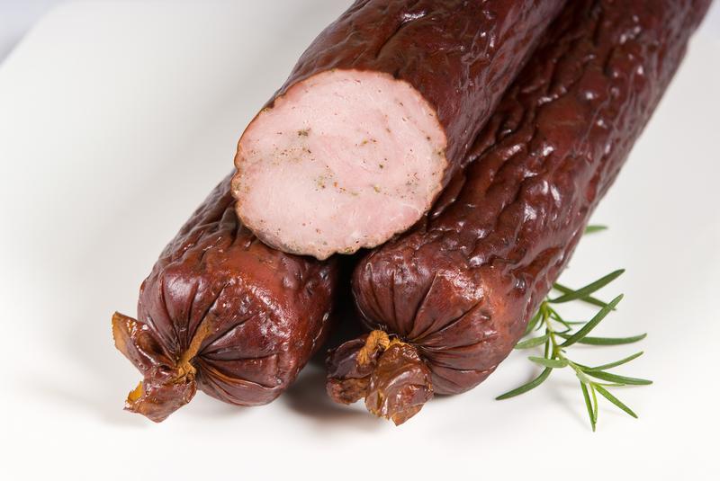 Produkt Kiełbasa bamberska wędzona podsuszana - zdrowa żywność blisko Ciebie