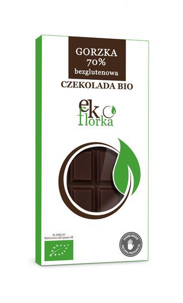 Produkt Czekolada gorzka 70% bezglutenowa (EKO) - zdrowa żywność blisko Ciebie