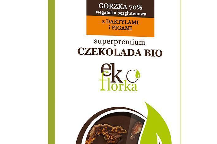 Produkt Czekolada gorzka 70% z daktylami i figami (EKO) - zdrowa żywność blisko Ciebie