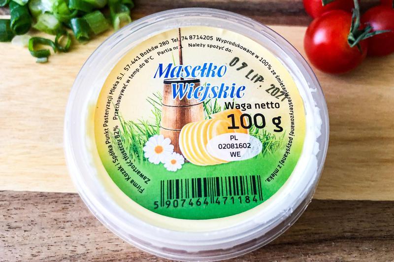 Produkt Masełko wiejskie 82% - zdrowa żywność blisko Ciebie