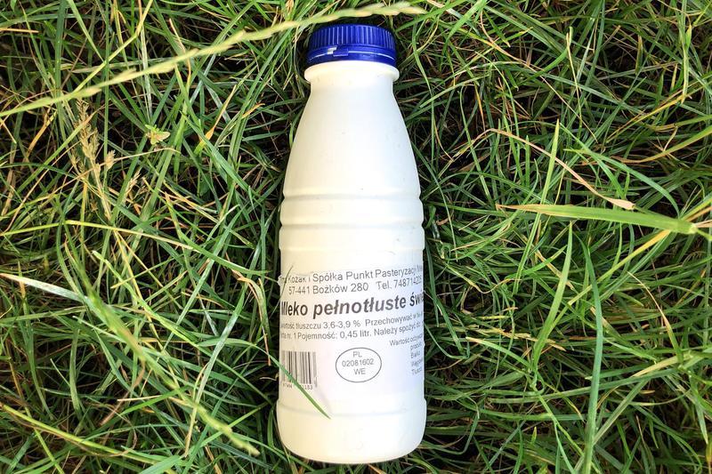 Produkt Mleko pełnotłuste - zdrowa żywność blisko Ciebie