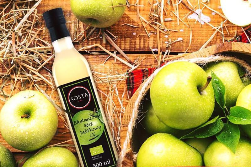 Produkt Ocet jabłkowy BIO 6% SOSTA - zdrowa żywność blisko Ciebie