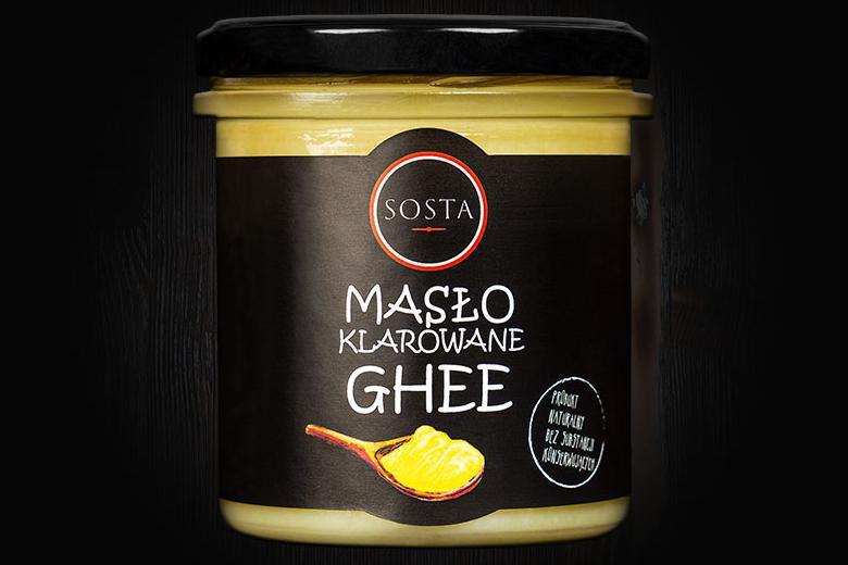 Produkt Masło klarowane GHEE 320 ml SOSTA - zdrowa żywność blisko Ciebie