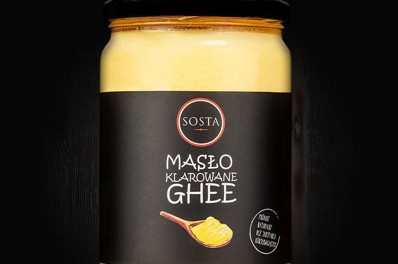 Produkt Masło klarowane GHEE 700 ml SOSTA - zdrowa żywność blisko Ciebie