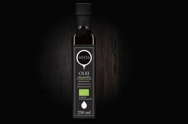 Produkt Olej sezamowy BIO 250 ml SOSTA - zdrowa żywność blisko Ciebie