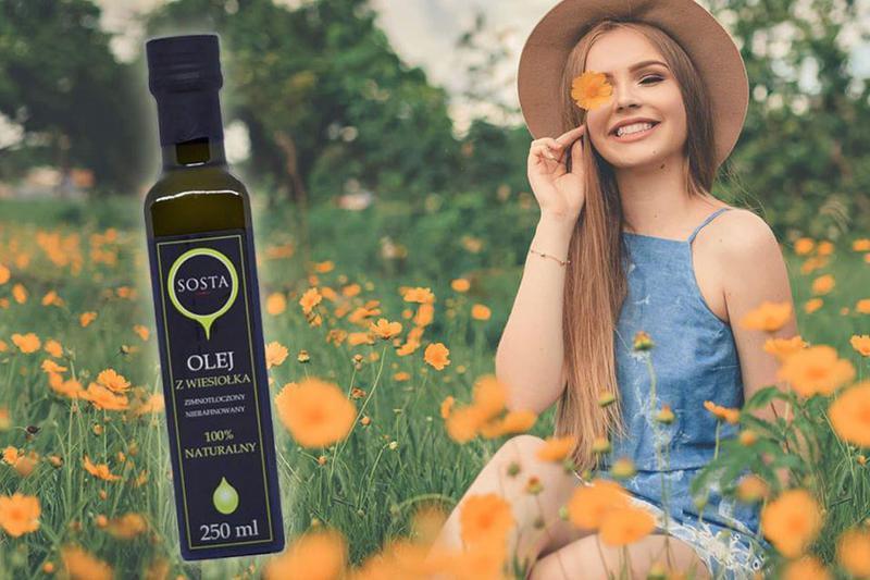 Produkt Olej z wiesiołka - zdrowa żywność blisko Ciebie