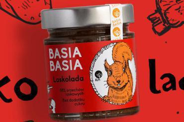 Produkt Krem orzechowy Basia Basia - Laskolada - zdrowa żywność blisko Ciebie