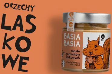 Produkt Krem orzechowy Basia Basia - Orzechy Laskowe - zdrowa żywność blisko Ciebie