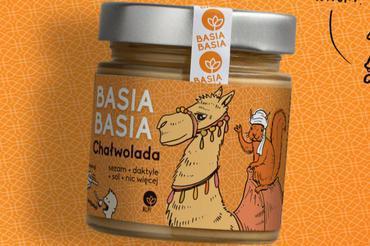 Produkt Krem orzechowy Basia Basia - Chałwolada - zdrowa żywność blisko Ciebie