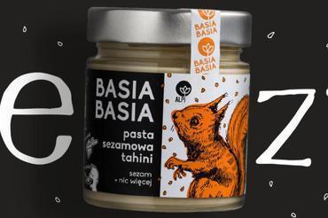 Produkt Krem orzechowy Basia Basia - pasta sezamowa tahini - zdrowa żywność blisko Ciebie