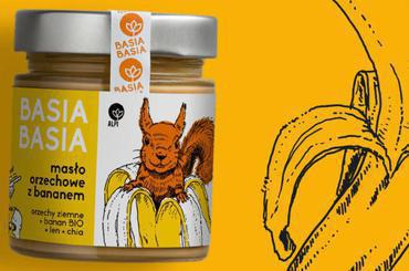 Produkt Krem orzechowy Basia Basia - z bananem - zdrowa żywność blisko Ciebie