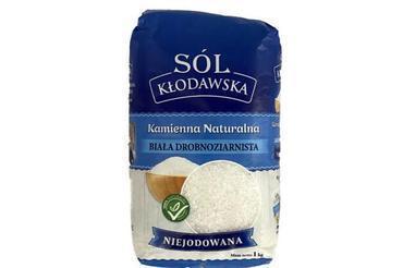 Produkt Sól kamienna z Kłodawy - biała drobnoziarnista - zdrowa żywność blisko Ciebie