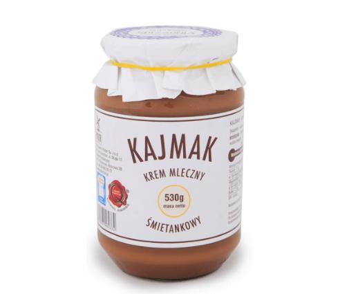 Produkt Kajmak śmietankowy - zdrowa żywność blisko Ciebie
