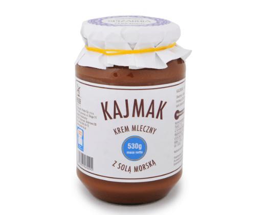 Produkt Kajmak z solą morską - zdrowa żywność blisko Ciebie