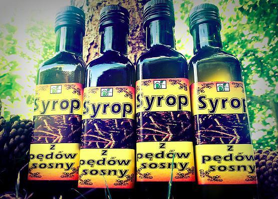 Produkt Syrop z pędów sosny - Specjały spod Strzechy - zdrowa żywność blisko Ciebie