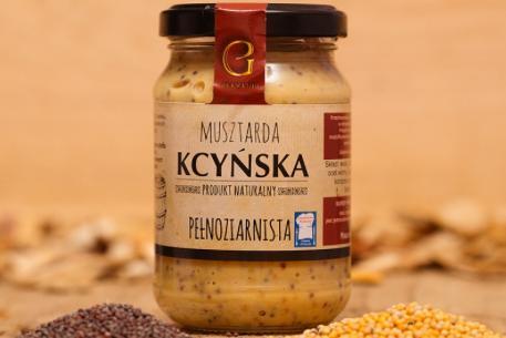 Produkt Musztarda Kcyńska Pełnoziarnista - zdrowa żywność blisko Ciebie