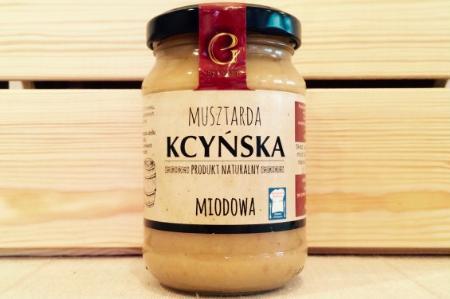 Produkt Musztarda Kcyńska Miodowa - zdrowa żywność blisko Ciebie