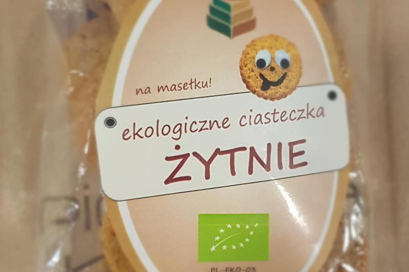 Produkt Ciasteczka żytnie (EKO) - zdrowa żywność blisko Ciebie