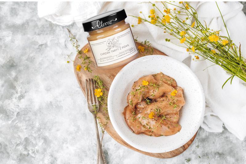 Produkt Chrzan z pigwą - zdrowa żywność blisko Ciebie