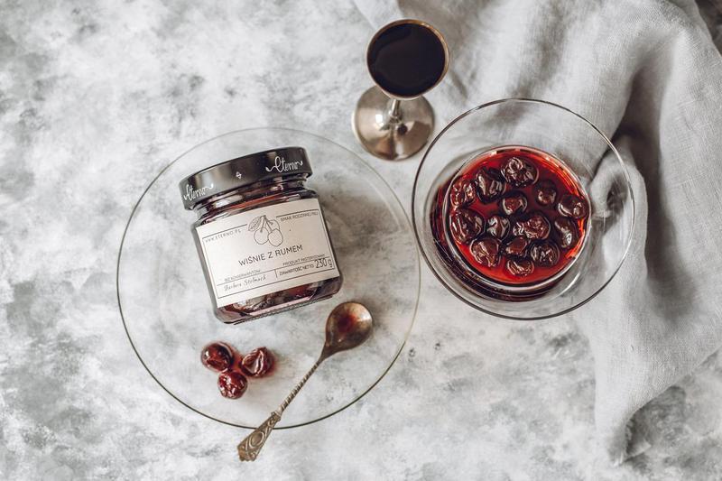 Produkt Wiśnie z rumem - zdrowa żywność blisko Ciebie