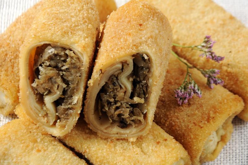 Produkt Krokiety z kapustą i pieczarką - zdrowa żywność blisko Ciebie