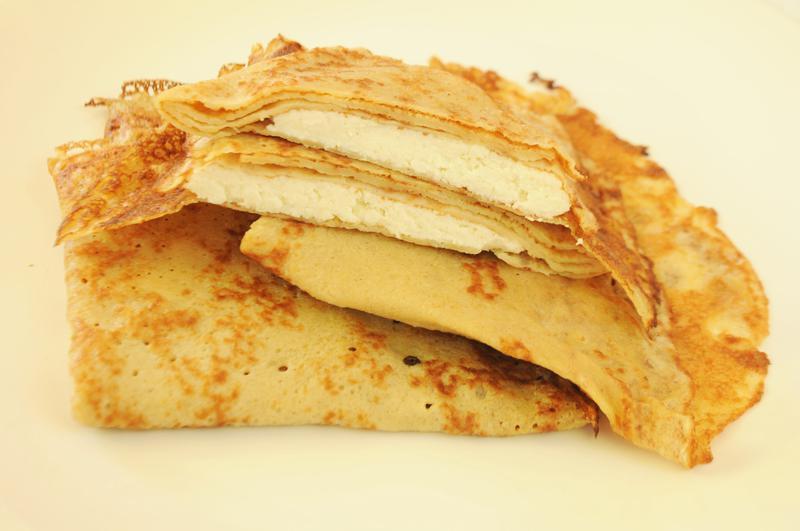 Produkt Naleśniki  żytnie z serem na słodko - zdrowa żywność blisko Ciebie