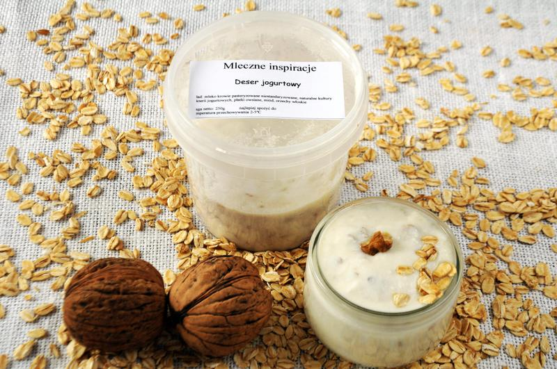 Produkt Jogurtowa przekąska z orzechami i płatkami owsianymi - zdrowa żywność blisko Ciebie