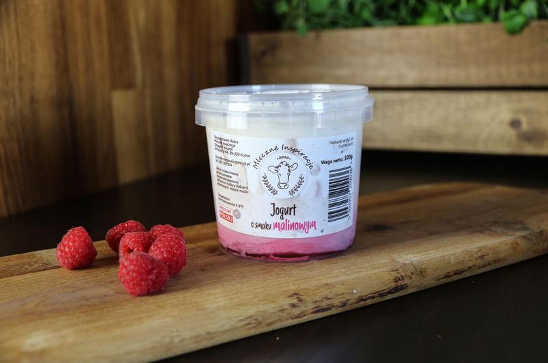 Produkt Jogurt malinowy bez cukru - zdrowa żywność blisko Ciebie