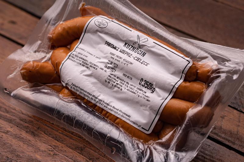 Produkt Parówki wieprzowo-cielęce w naturalnej osłonce - zdrowa żywność blisko Ciebie