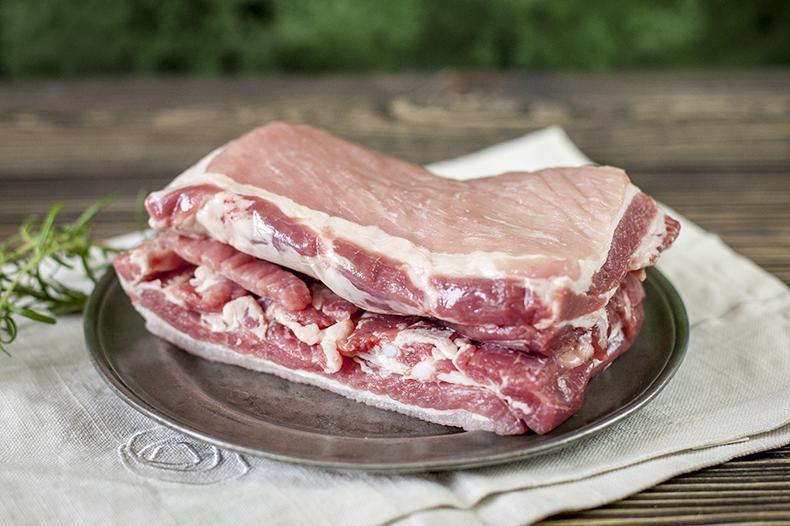 Produkt Boczek wieprzowy bez żeber i skóry - porcja do pieczenia - zdrowa żywność blisko Ciebie