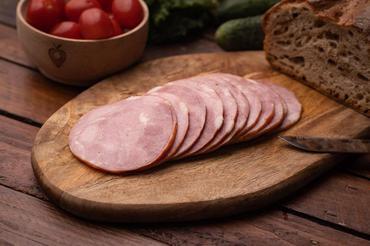 Produkt Kiełbasa krakowska firmowa w plasterkach - zdrowa żywność blisko Ciebie