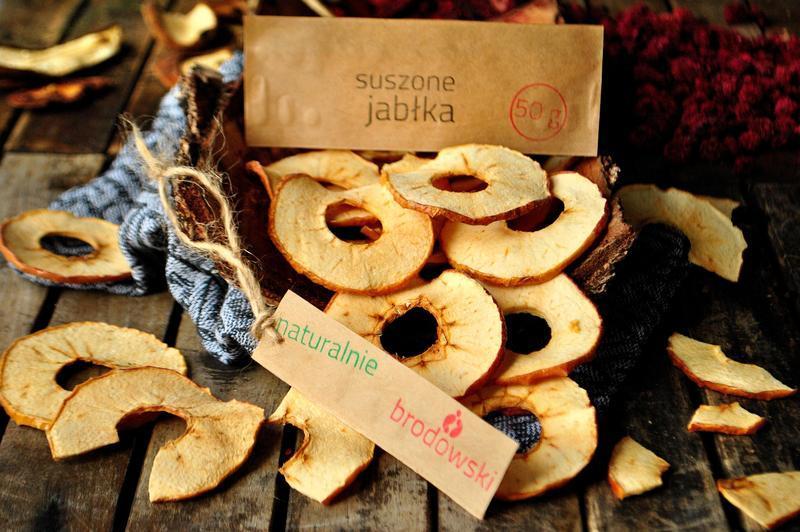 Produkt Suszone jabłka plastry - zdrowa żywność blisko Ciebie