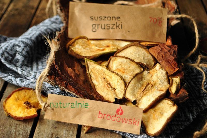 Produkt Suszone gruszki plastry - zdrowa żywność blisko Ciebie