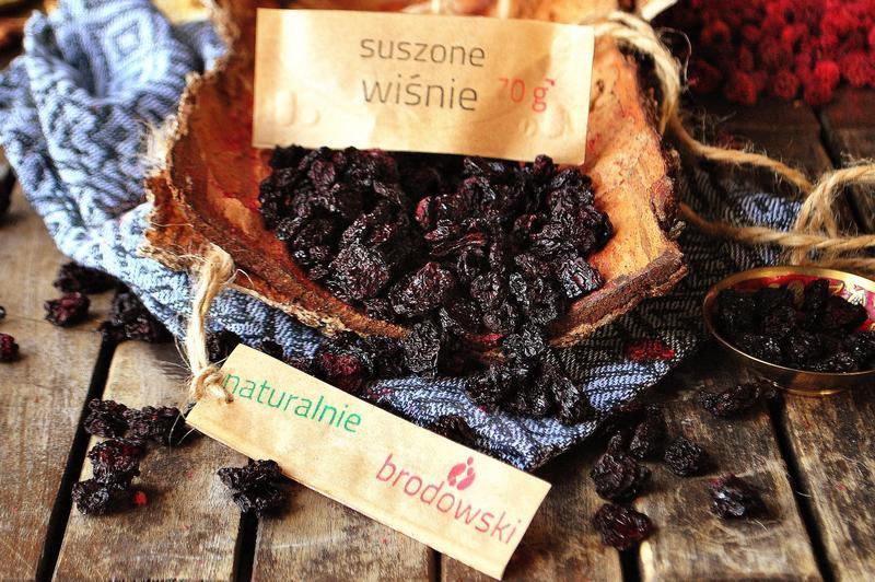 Produkt Suszone wiśnie bez pestek - zdrowa żywność blisko Ciebie