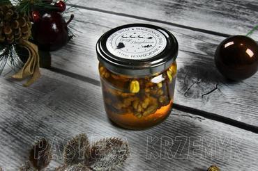 Produkt Orzechy w miodzie 240g - zdrowa żywność blisko Ciebie
