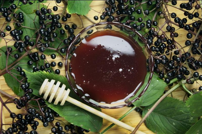 Produkt Miód z czarnym bzem - zdrowa żywność blisko Ciebie