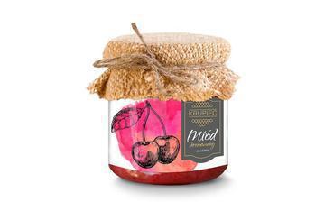 Produkt Miód kremowany z wiśnią - zdrowa żywność blisko Ciebie