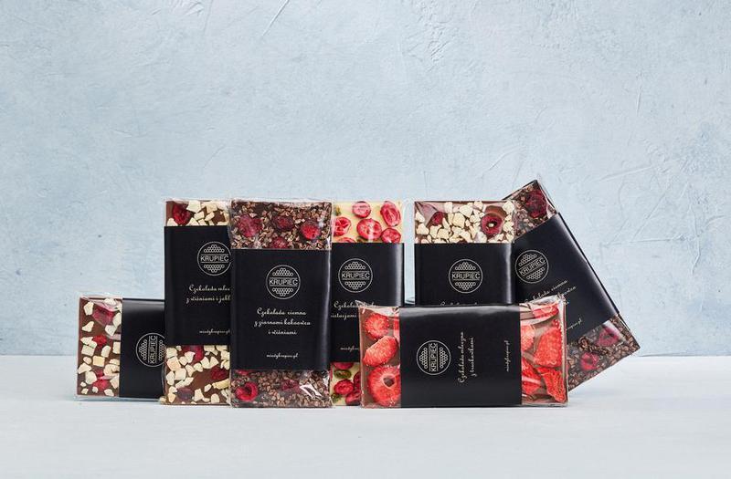 Produkt Czekolada biała z pistacjami i żurawiną, ręcznie wykonana- premium - zdrowa żywność blisko Ciebie